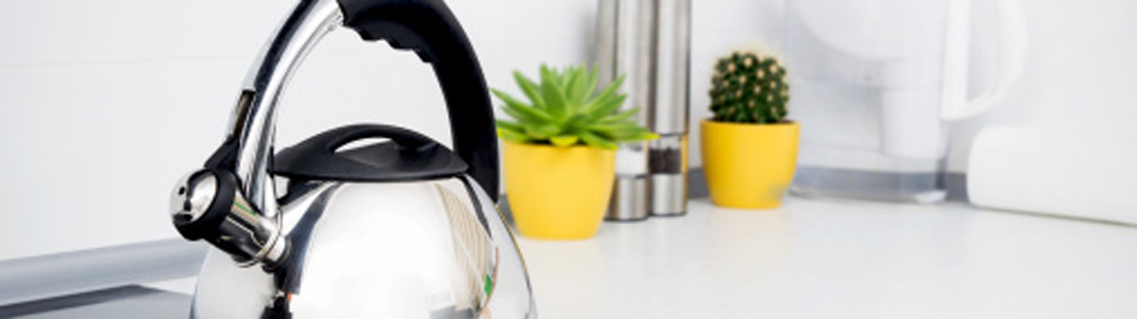 Kettle in the kitchen