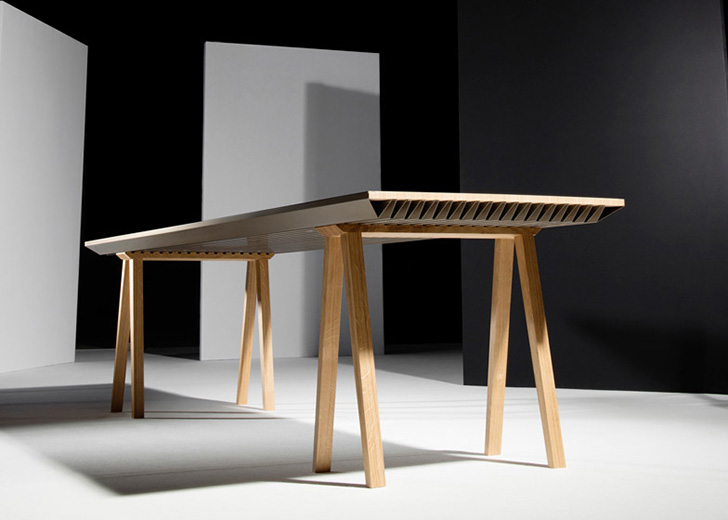 Zero Energy Furniture table design