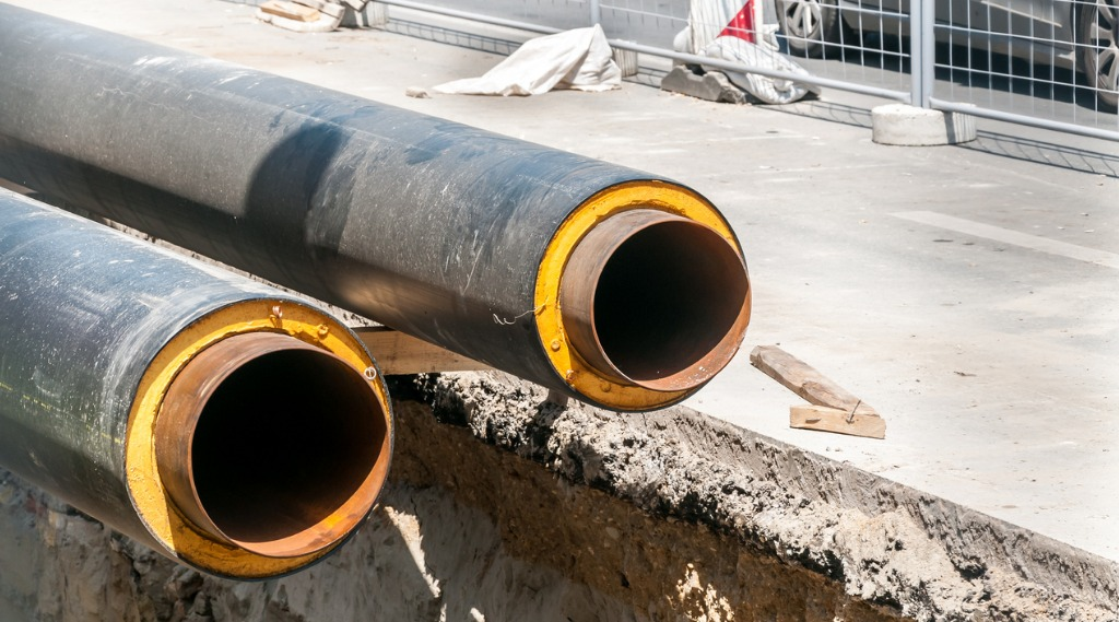 district heating insulated pipes