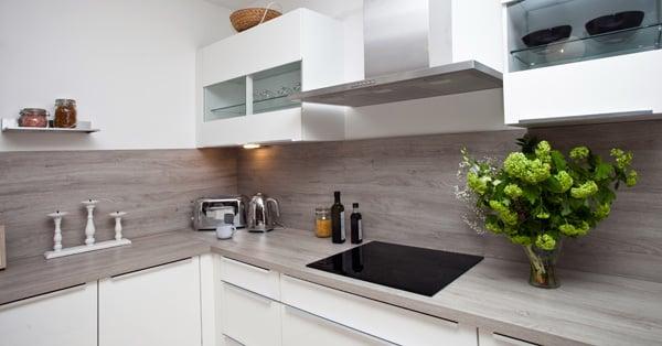 kitchen modern interior with nice lighting