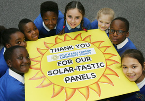 SELCE celebrates solar success with Greenwich School - by Adam Pope