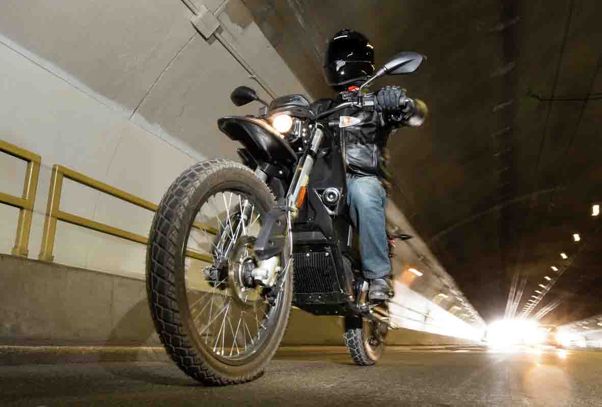 Zero Motorcycles Press Image Of Electric Motorbike