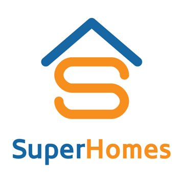 SuperHomes logo