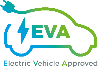 Electric Vehicle Approved (EVA) logo