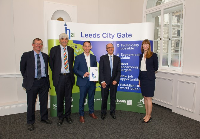 Launch of H21 report in London - image via Northern Gas Networks