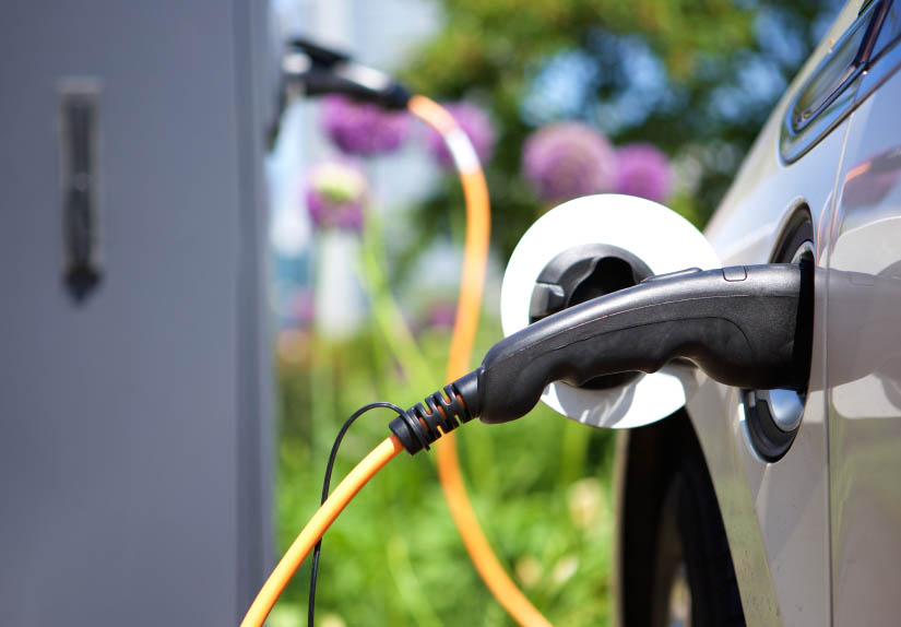 Supply For Charging Hybrid Electric Car