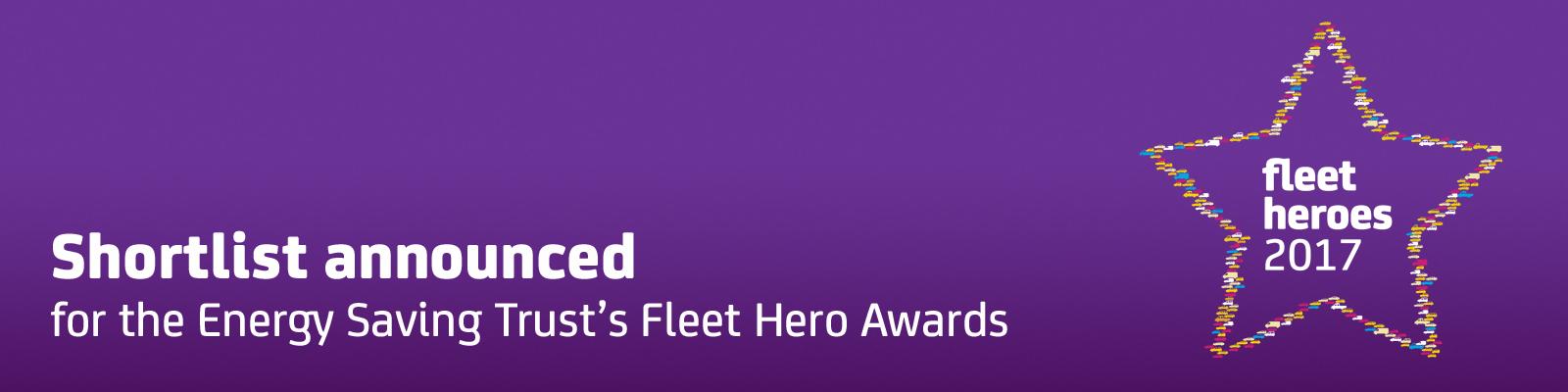 Fleet Hero Awards 2017 shortlist
