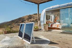 SolPad providing power