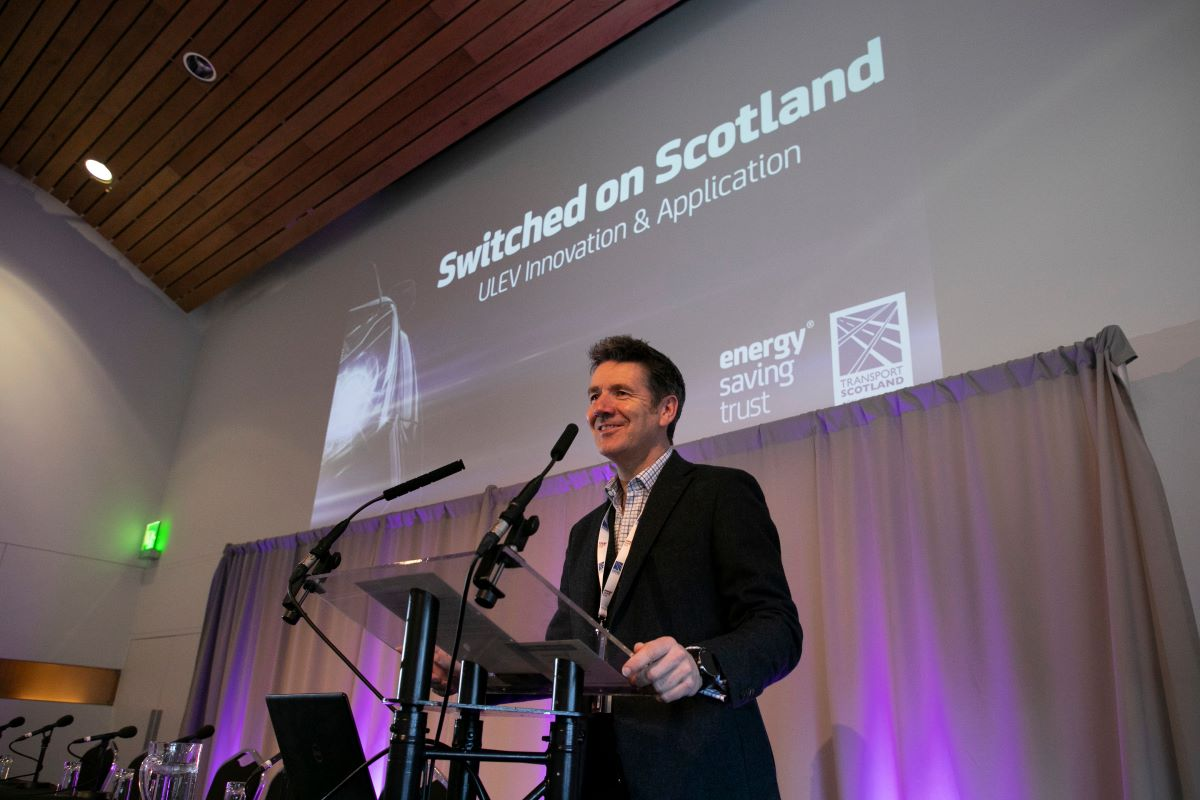 Dougie Vipond at Switched on Scotland