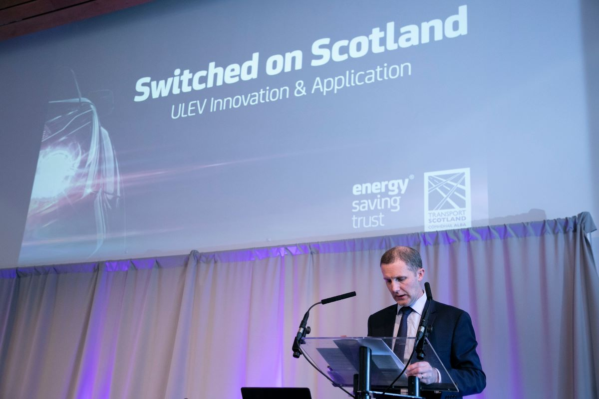 Mr Michael Matheson MSP at Switched on Scotland