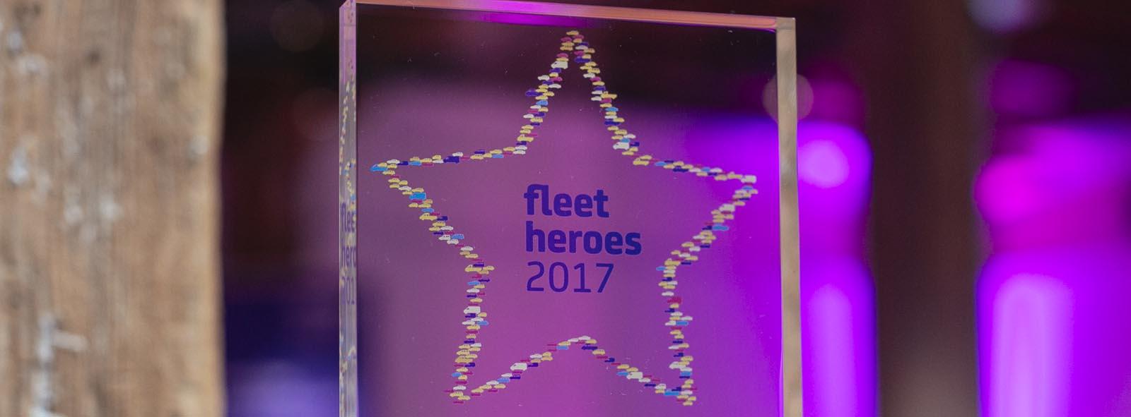 Fleet Hero Awards 2017 trophy