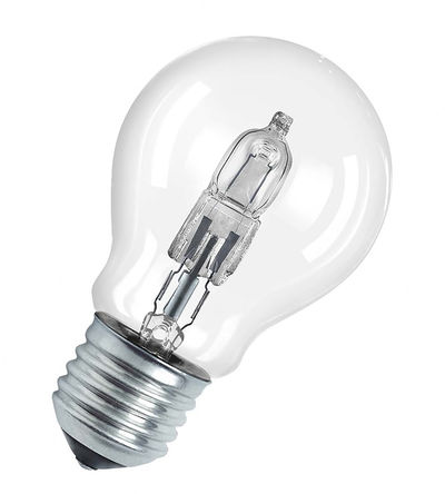 Halogen GLS lightbulb
