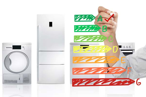 Energy labels for appliances