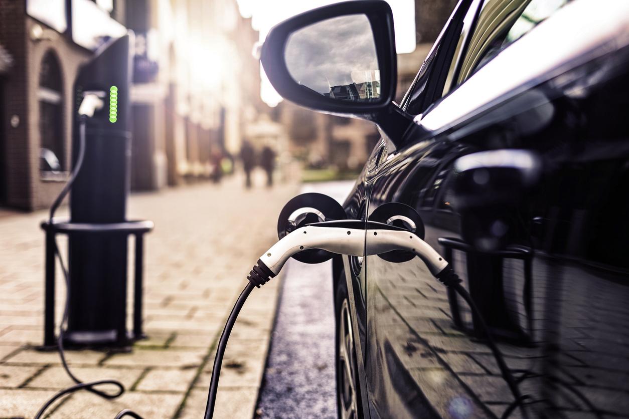 plug-in car charging